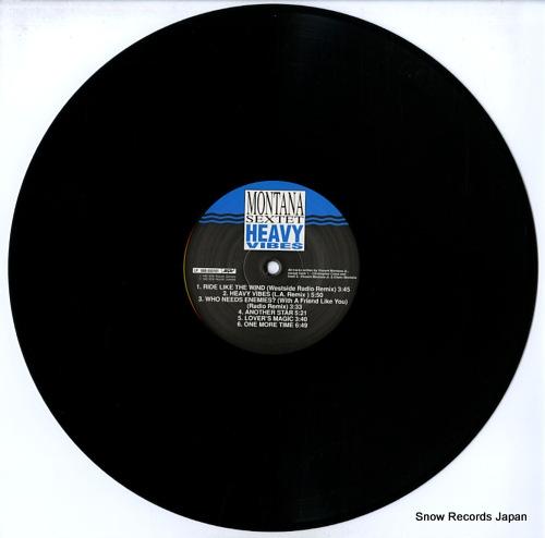 MONTANA SEXTET heavy vibes LP008-555161SPV - disc
