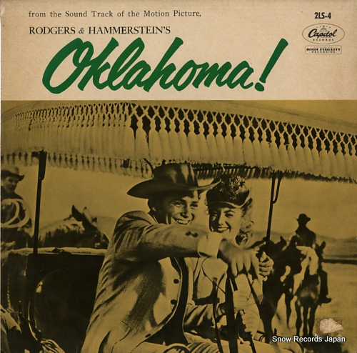 BLACKTON, JAY rodgers & hammerstein's oklahoma! 2LS-4 - front cover