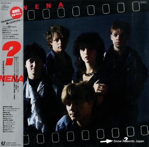NENA ? (fragezeichen) 28.3P-544 - front cover