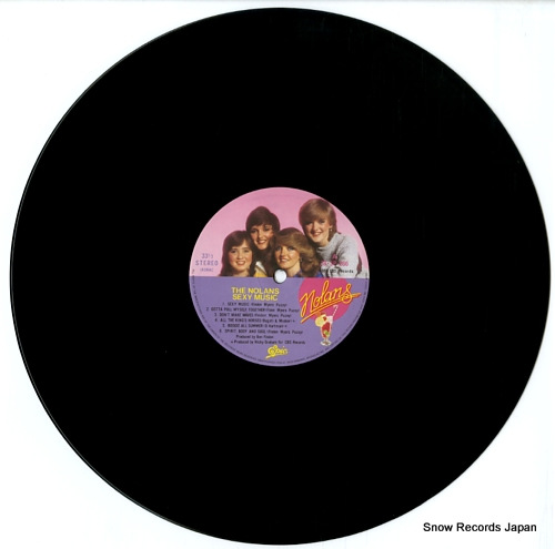 NOLANS, THE sexy music 28.3P-266 - disc