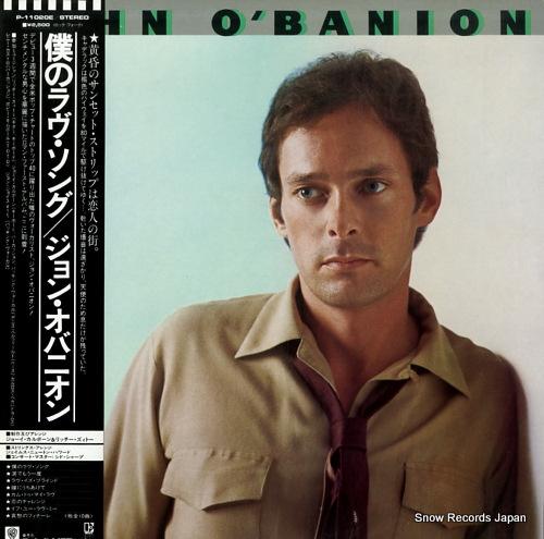 O'BANION, JOHN john o'banion P-11020E - front cover