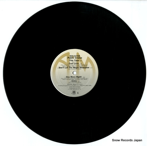 PABLO CRUISE reflector SP-3726 - disc
