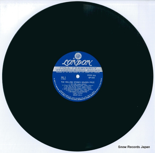 ROLLING STONES, THE golden prize GP103 - disc