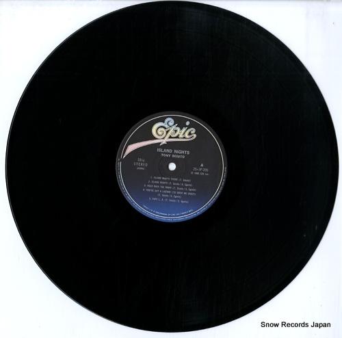 SCIUTO, TONY island nights 25.3P-205 - disc