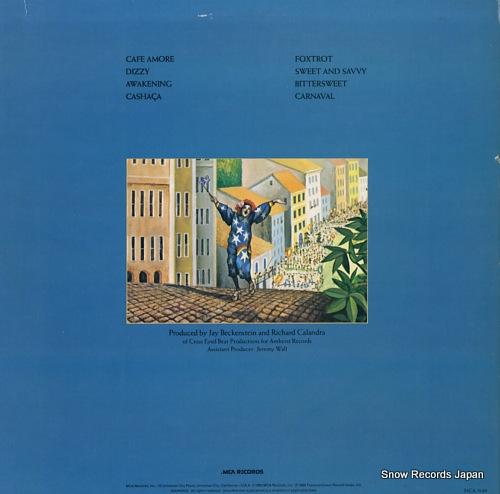 SPYRO GYRA carnaval MCA-5149 - back cover