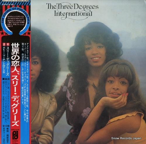THREE DEGREES, THE international ECPO-10-PH - front cover
