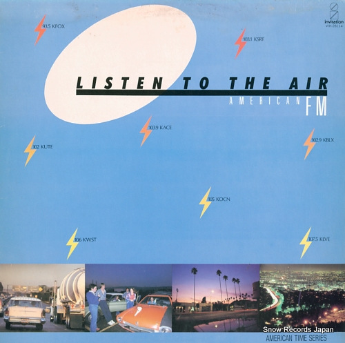 V/A listen to the air american fm VIH-28114 - front cover