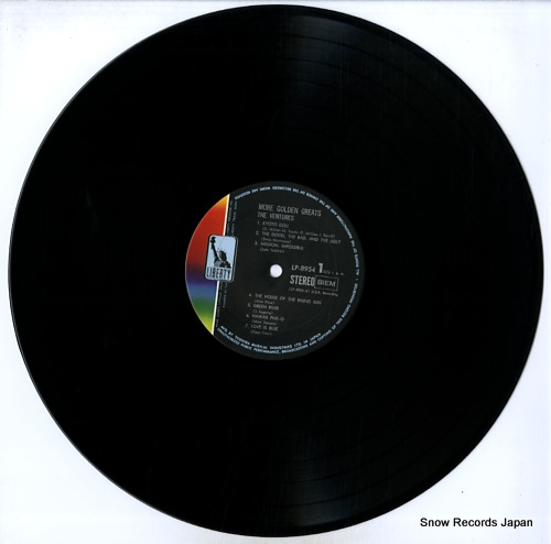 VENTURES, THE more golden greats LP-8954 - disc
