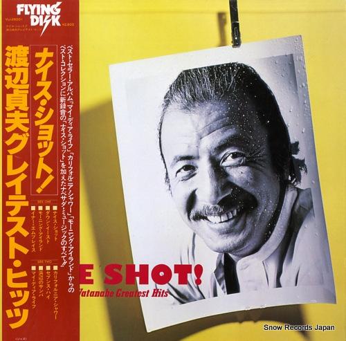 WATANABE, SADAO nice shot! sadao watanabe greatest hits VIJ-28001 - front cover