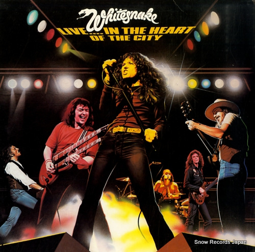 WHITESNAKE live in the heart of the city WTG19292 - front cover