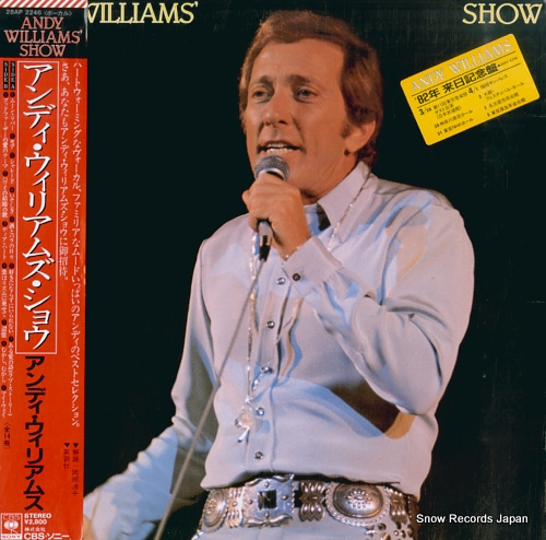WILLIAMS, ANDY andy williams' show 28AP2246 - front cover