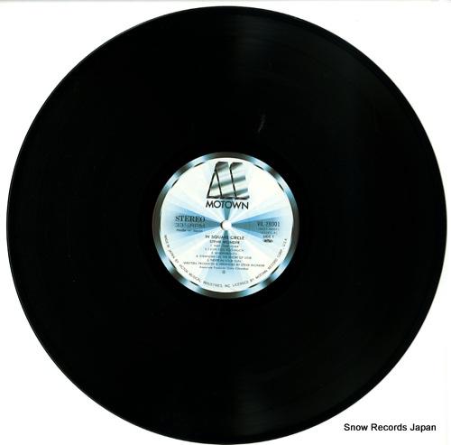 WONDER, STEVIE in square circle VIL-28001 - disc