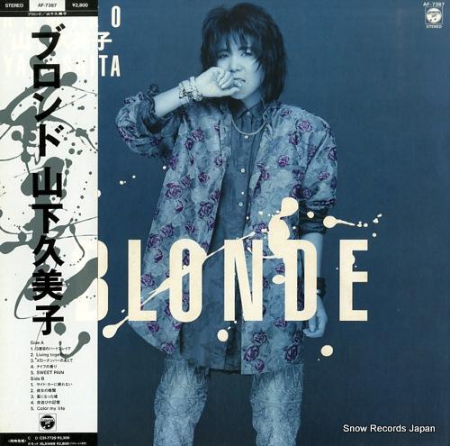 YAMASHITA, KUMIKO blonde AF-7387 - front cover