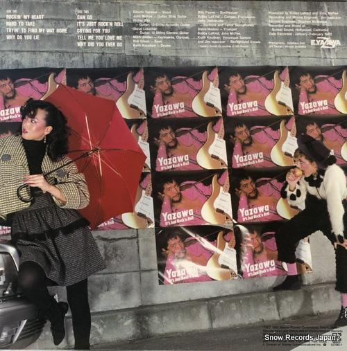 YAZAWA, EIKICHI it's just rock'n roll K-11001/60199-1 - back cover