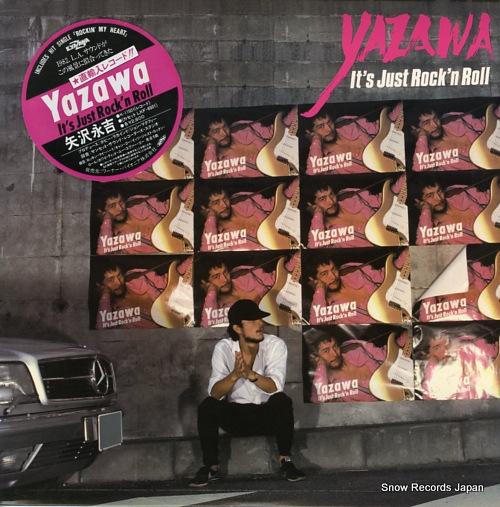 YAZAWA, EIKICHI it's just rock'n roll K-11001/60199-1 - front cover