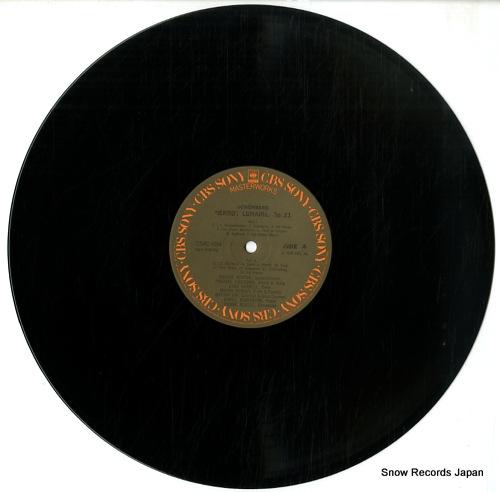 BOULEZ, PIERRE schoenberg; pierrot lunaire op.21 25AC684 - disc