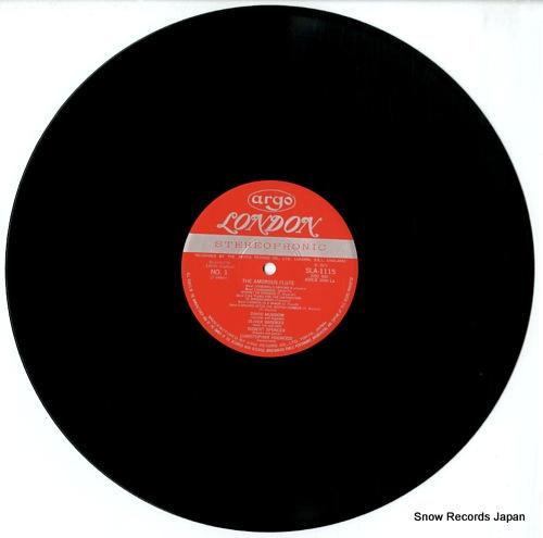 MUNROW, DAVID the amorous flute SLA1115 - disc