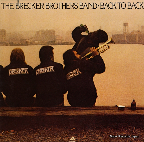 BRECKER BROTHERS, THE back to back AL4061 - front cover