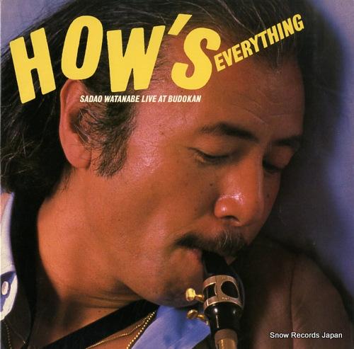 WATANABE, SADAO how's everything - sadao watanabe live at budokan 38AP10001-2 / C2X36776 - front cover