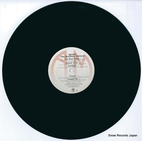 BROTHERS JOHNSON, THE winners SP-3724 - disc