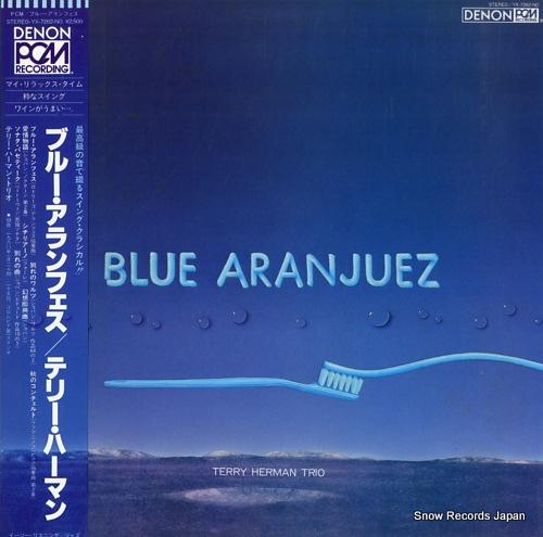HERMAN, TERRY blue aranjuez