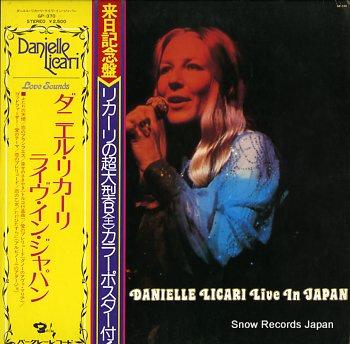 LICARI, DANIELLE live in japan