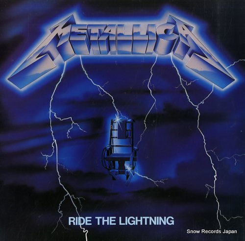 METALLICA ride the lightning