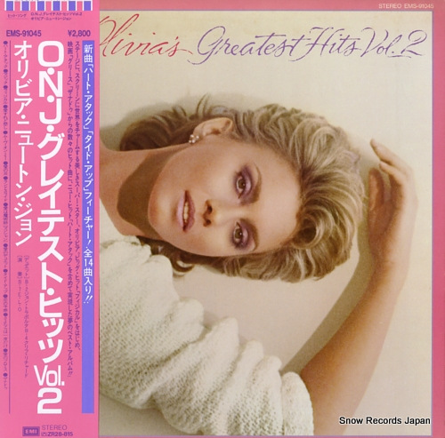 NEWTON-JOHN, OLIVIA olivia's greatest hits vol.2