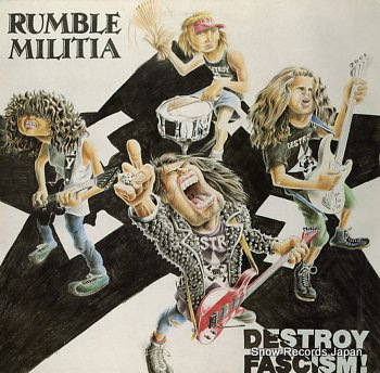 RUMBLE MILITIA destroy fascism