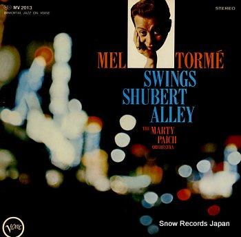 TORME, MEL swings shubert alley