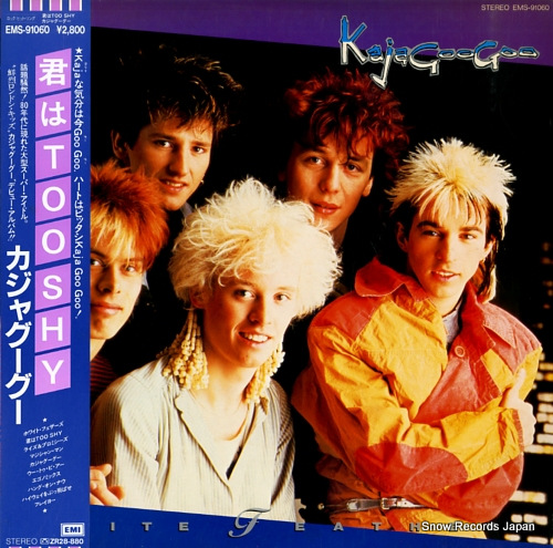 KAJAGOOGOO white feathers EMS-91060 - front cover
