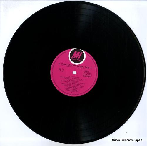 BUENOS AIRES 8 el coro milagro SFX-5131 - disc