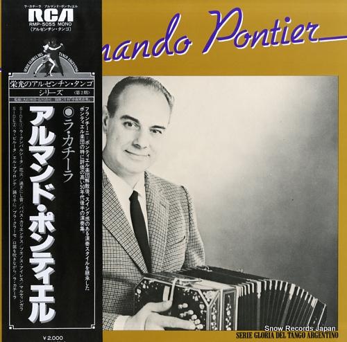 PONTIER, ARMANDO la cachila RMP-5055 - front cover