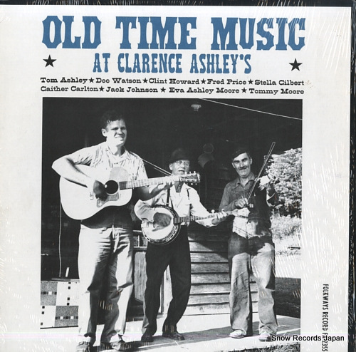 V/A old time music at clarence ashley's FA2355
