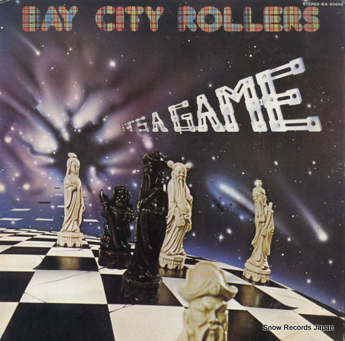 BAY CITY ROLLERS it's a game IES-80850 - front cover