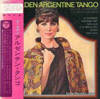 ニコラス・ダレッサンドロ・タンゴ六重奏団 ゴールデン・アルゼンチン・タンゴ YS-2113-AX