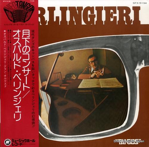 BERLINGIERI, OSVALDO tangos SFX-5134 - front cover