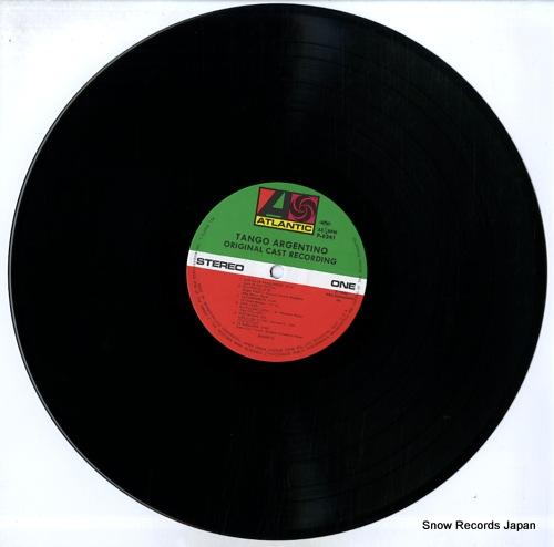 ORIGINAL CAST RECORDING tango argentino P-6241-42 - disc