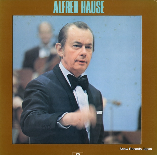 HAUSE, ALFRED portrait of alfred hause MP5003 - front cover
