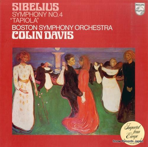 コリン・デイヴィス sibelius; symphony no.4 / tapiola 9500143