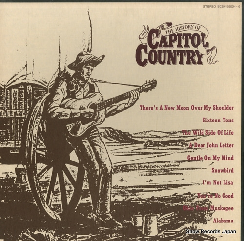 V/A the history of capitol country ECSX-95004-6 - front cover