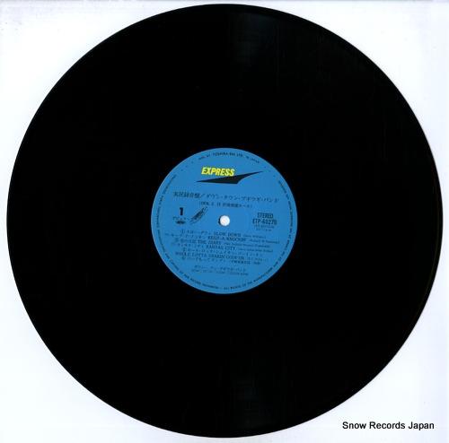 DOWN TOWN BOOGIE WOOGIE BAND jikkyorokuonban ETP-60270-71 - disc