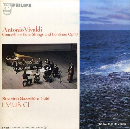 I MUSICI vivaldi; la tempesta di mare SFX-7683 - back cover