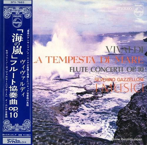 I MUSICI vivaldi; la tempesta di mare SFX-7683 - front cover
