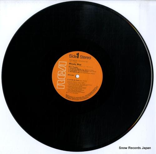 PRESLEY, ELVIS moody blue RVP-6224 - disc
