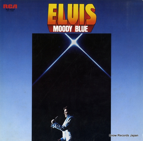 PRESLEY, ELVIS moody blue RVP-6224 - front cover