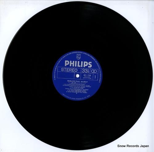 MAURIAT, PAUL penelope SFX-7336 - disc