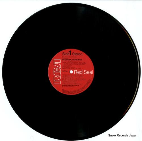 SEGOVIA, ANDRES reveries SX-2773 - disc