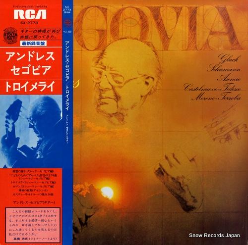 SEGOVIA, ANDRES reveries SX-2773 - front cover