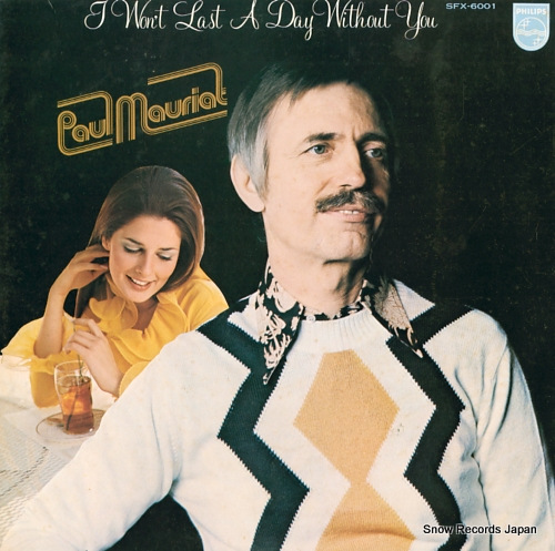 MAURIAT, PAUL i won't last a day without you SFX-6001 - front cover